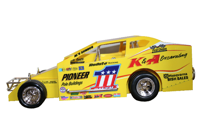 Billy Pauch 2020 #1 Hard Plastic Toy car