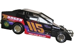 Kenny Tremont 1991 #115 Hard Plastic Toy car