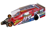 Slot Magic 3 Dirt Modified body - Kenny Tremont 2014 #115
