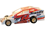 Alan Johnson 2018 Oswego #14J Hard Plastic Toy car