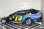 Alan Johnson 2015 #14J Hard Plastic Toy car