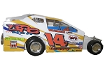Ryan Watt 2006 #14W Hard Plastic Toy car