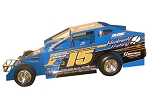 Billy Pauch Jr. 2019 #15 Hard Plastic Toy car