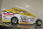 Bob McCreadie 1988  #9 Hard Plastic Toy car