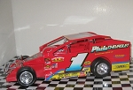 Doug Hoffman  1996 #1  Hard Plastic Toy car