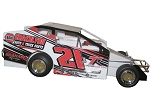 Danny Johnson 2018  #21J Hard Plastic Toy car