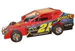 Bob McGannon 2018 #21M Hard Plastic Toy car