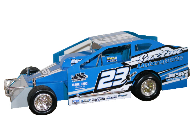 Tim Buckwalter 2020 #23x Hard Plastic Toy car