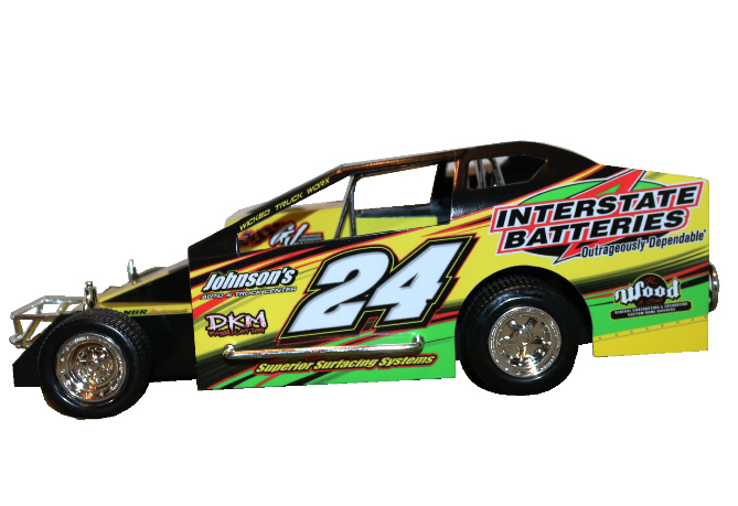 Joey Bruning 2020 #24 Hard Plastic Toy car