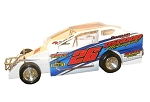 Jim Osgood 2018 #26 Hard Plastic Toy car