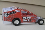Danny Johnson 2015 #27J  Hard Plastic Toy car