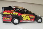 Andy Bachetti 2014 #34  Hard Plastic Toy car