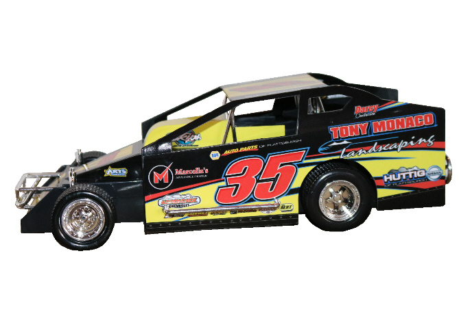 Mike Mahaney 2020 #35 Hard Plastic Toy car