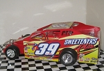 Tim McCready 2014/15 Syracuse car #39 Hard Plastic Toy car