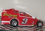 Jimmy Horton 1976  #3 Hard Plastic Toy car