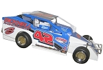 Pete Bicknell 2018 #42 Hard Plastic Toy car