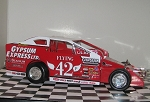 Pat Ward 2015 Syracuse car  #42P Hard Plastic Toy car