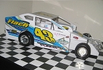 Keith Flach 2015 Syracuse car  #43 Hard Plastic Toy car