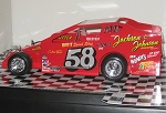 Merv Treichler 1982 #58 Hard Plastic Toy car