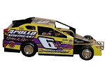 Josh Hohenforst 2018  #6H Hard Plastic Toy car