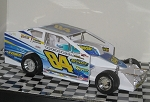 Gary Tomkins 2015 #84 Hard Plastic Toy car