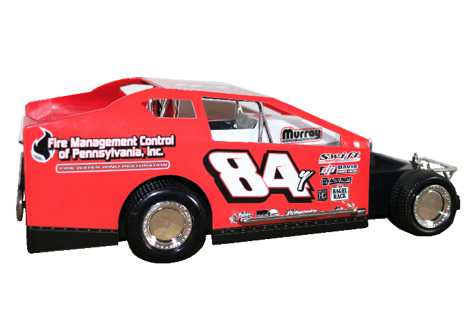 Alex Yankowski 2020 #84Y Hard Plastic Toy car