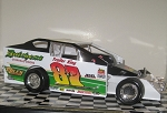 Jimmy Horton 1993 #87 Hard Plastic Toy car