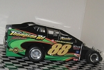 Steve Hulsizer  #88 Hard Plastic Toy car