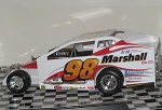 Eddie Marshall 2014/15 Syracuse car #98 Hard Plastic Toy car