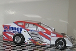 Bob McCreadie 2005 #9 Hard Plastic Toy car   )