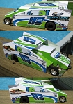 Slot Magic 2 Dirt Modified body - Kevin Hirthler #117