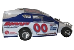 Buzzie Reutimann #00 Hard Plastic Toy car