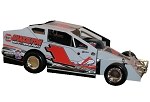 Billy Pauch Graham Racing 2019  #1 Hard Plastic Toy car