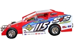 Kenny Tremont 2020 #115 Silver number Hard Plastic Toy car