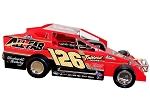 Jeff Strunk 2020  #126 Hard Plastic Toy car