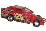 Jeff Strunk 2016 358 #126 Hard Plastic Toy car