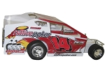 Alan Johnson 2006 #14J Hard Plastic Toy car