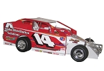 Jimmy Horton 2009 #14 Hard Plastic Toy car