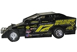 Danny O'Brien 2017 358 #17D Hard Plastic Toy car