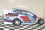 Pete Britten 2016  #18 Hard Plastic Toy car