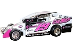 Jared Umbenhauer 2020 #19 Hard Plastic Toy car