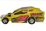 Kenny Brightbill Syracuse car 2009 #19 Hard Plastic Toy car