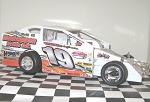 Tim Fuller 2016  #19 Hard Plastic Toy car
