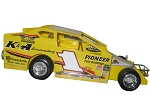 Billy Pauch 2016  #1 Hard Plastic Toy car