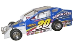 Brett Hearn 2007 Big Block #20 Hard Plastic Toy car