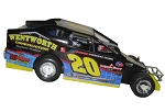 Brett Hearn 2010 #20 Hard Plastic Toy car