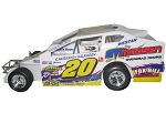 Brett Hearn Syracuse 358 2009 #20 Hard Plastic Toy car   (COPY)