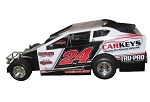 Brandon Sweet 2017 Oswego 358 #24 Hard Plastic Toy car
