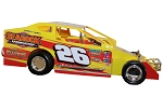 Ryan Godown 2019  #26 Hard Plastic Toy car