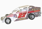 Danny Johnson 2004 #27 Hard Plastic Toy car